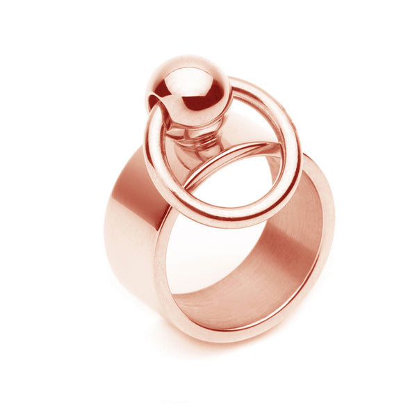The Bull Ring - Rose Gold