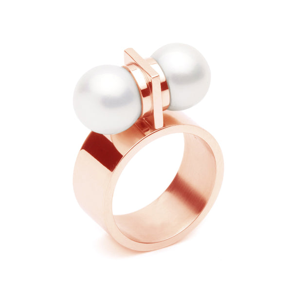 The Thunderball Ring - Rose Gold