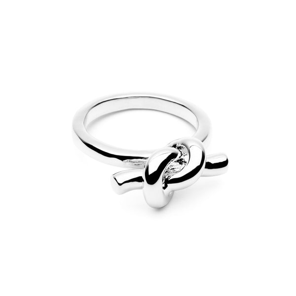 (Pre-Order) Tie The Knot Ring - Silver