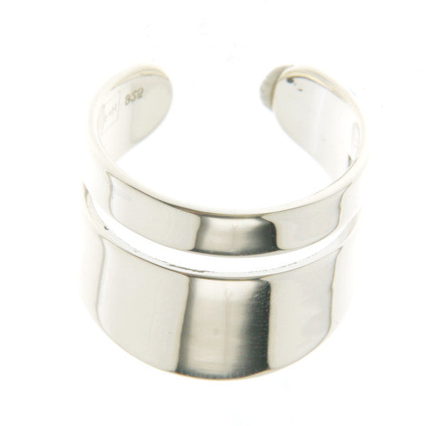 (PRE-ORDER) RONNIE PHALANX RING - SILVER