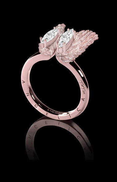 ANGELICA MINI RING - SNOW ROSE (SPECIAL EDITION) - SIZE S