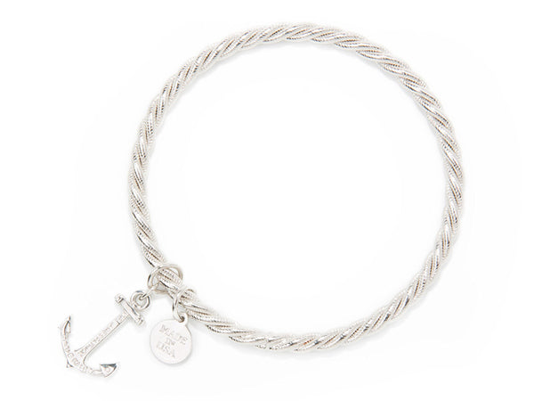(PRE-ORDER) Pearl Collection - Silver Sailor Charm bracelet