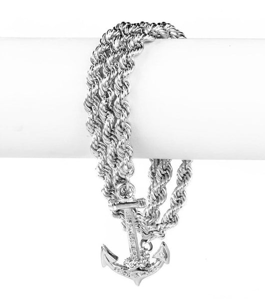 (PRE-ORDER) Castaway Collection - Normal Silver Bracelet Wrap