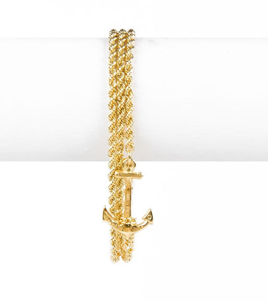 (PRE-ORDER) Castaway Collection - Skinny Gold Bracelet Wrap