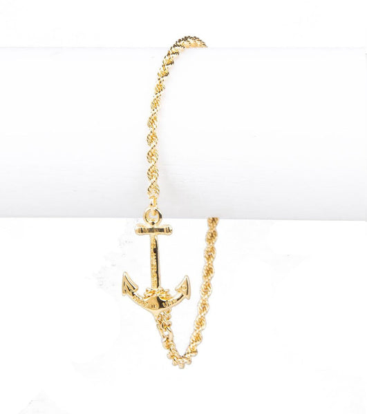 Castaway Collection - Skinny Gold Bracelet