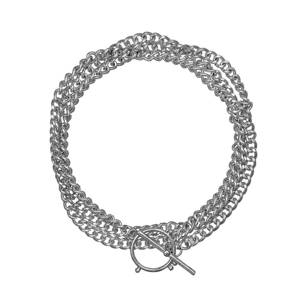 THE HAPUR WRAP CHAIN - SILVER OX