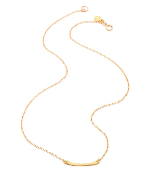 Taner Bar Mini Necklace - Gold
