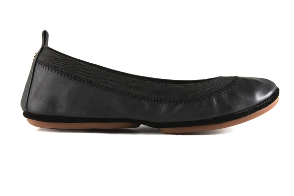 Samara Black Matte Leather