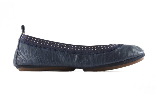 Samara - Indigo with Gold Studs