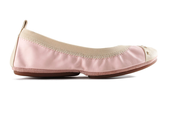 Samantha Studded - Powder Pink and Biscotti