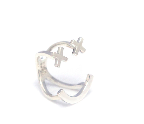 (PRE-ORDER) XX SMILE PAVE SETTING RING