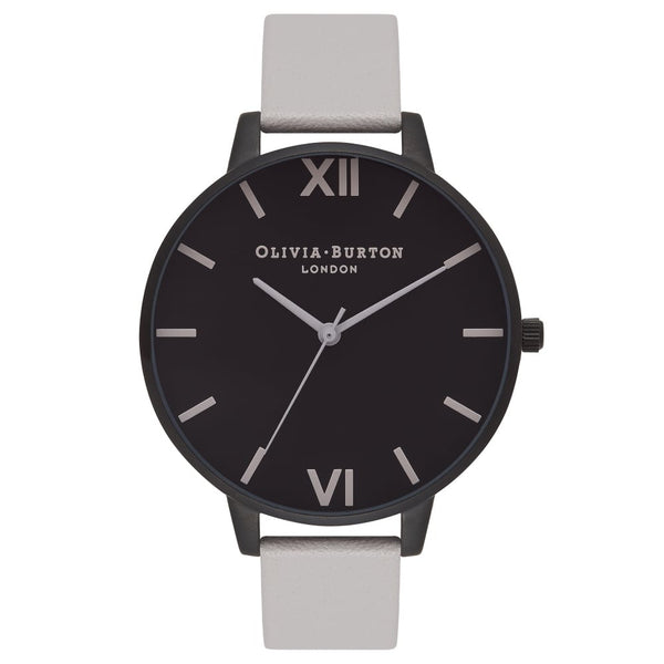 AFTER DARK IP BLACK DIAL & LIGHT GREY STRAP