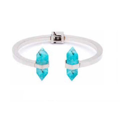 (PRE-ORDER) Angelica Bangle - Blue Turquoise