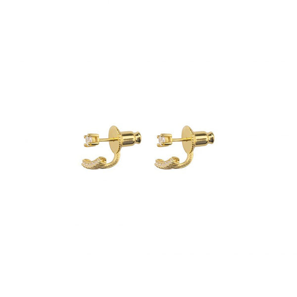 AZURE EAR JACKETS - GOLD