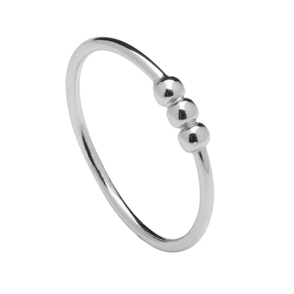 BILLIARDS SILVER RING