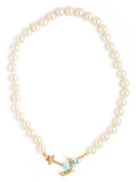 (PRE-ORDER) Pearl Collection - Brunch at Tiffany's Necklace