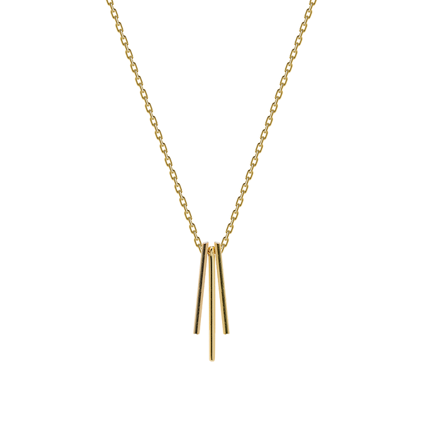 CARLIE GOLD NECKLACE