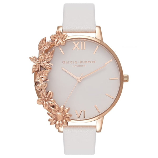 Case Cuff Blush & Rose Gold - Big Dial