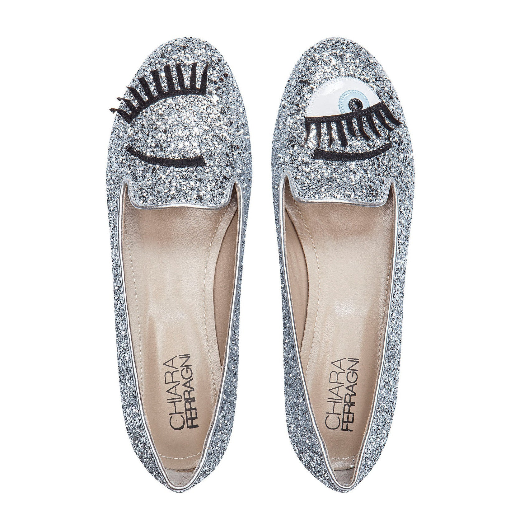 Chiara Ferragni Flirting Eyes slippers