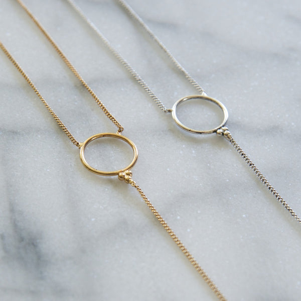 THE DELPHI LARIAT- ANTIQUE GOLD