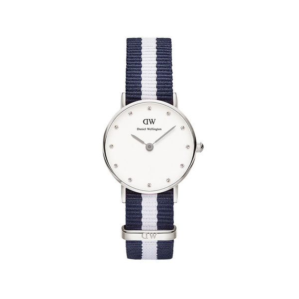 WOMENS CLASSY GLASGOW NATOSTRAP WATCH (SMALLER FACE)