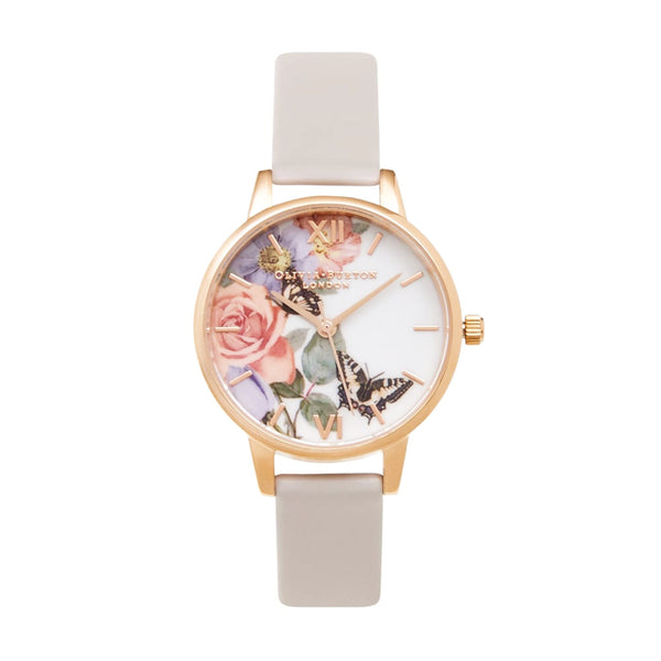 MIDI ENCHANTED GARDEN ROSE GOLD & BLUSH STRAP