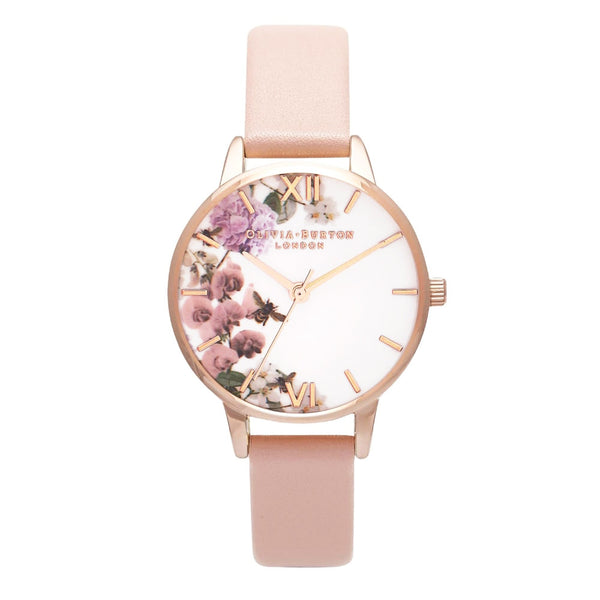 Midi Enchanted Garden Dusty Pink & Rose Gold