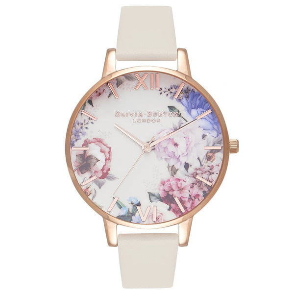 Enchanted Garden Blooms Nude & Rose Gold