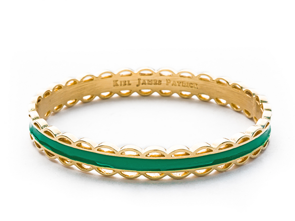 (PRE-ORDER) Scallop Bangle Collection - Green