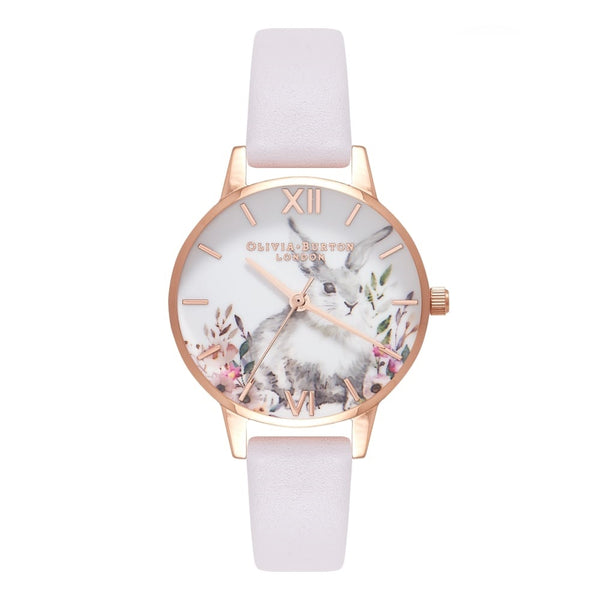 Illustrated Animals Blush & Rose Gold