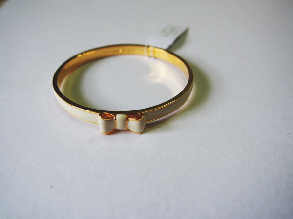 Kate Spade Take a Bow Bangle - Cream