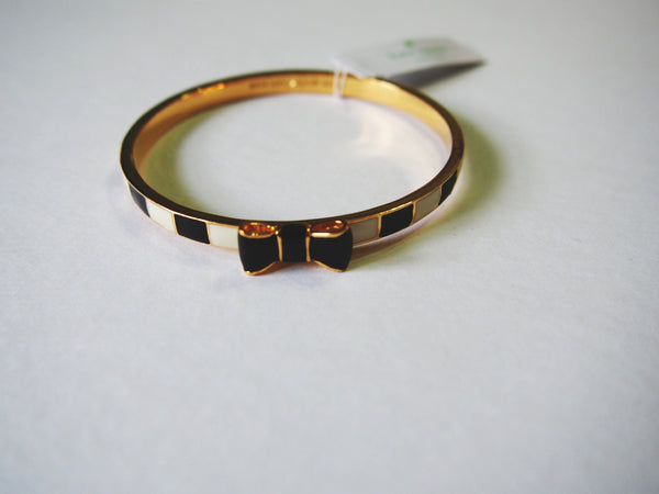 Kate Spade Take a Bow Bangle - Stripped