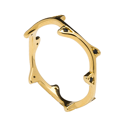 INDRIA GOLD RING