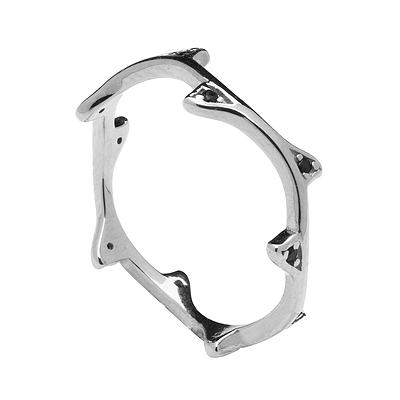 INDRIA SILVER RING