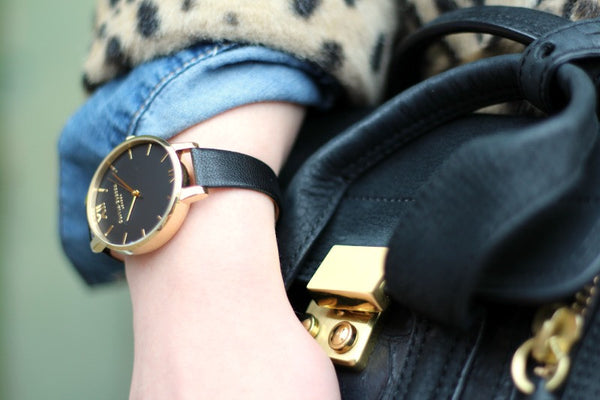 BLACK DIAL AND GOLD
