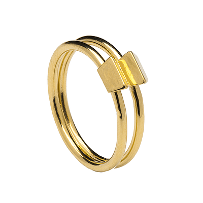 LINK GOLD RING
