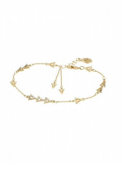 NILOTIC CHAIN BRACELET - GOLD