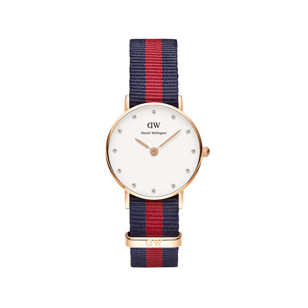 WOMENS CLASSY OXFORD NATOSTRAP WATCH (SMALLER FACE)