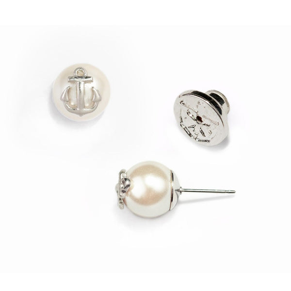 (PRE-ORDER) Pearl Collection - Atlantic Pearl Silver Earrings