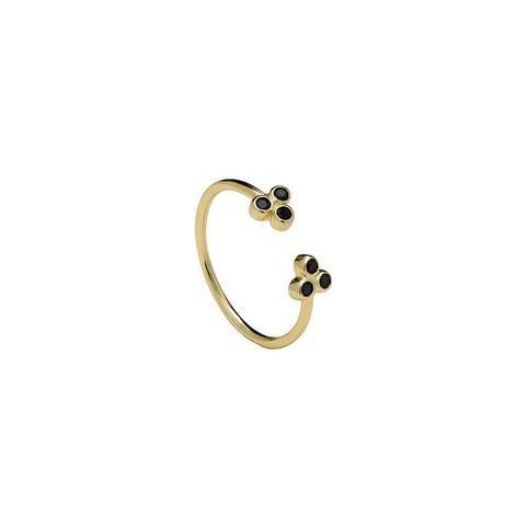 BLACK SWAN GOLD RING