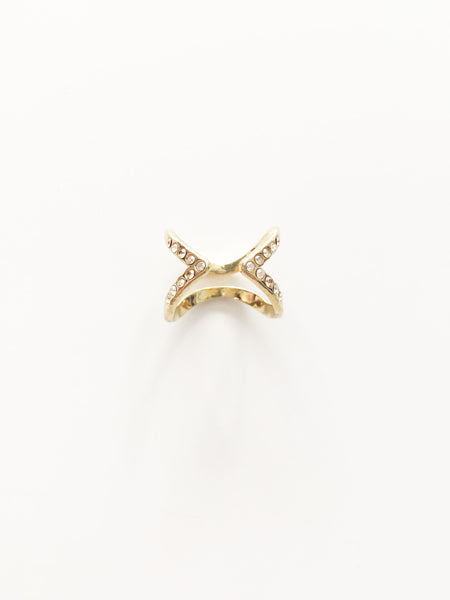 Double Open Ring - Gold