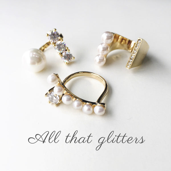 LIA GALAXY PEARL RING