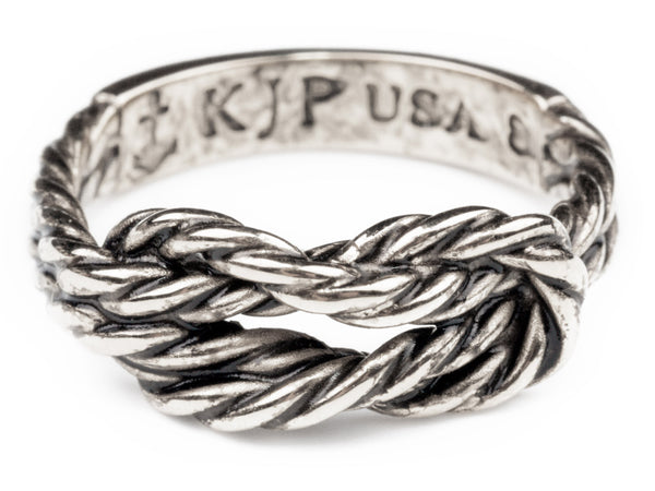 (PRE-ORDER) Sailor Knot Ring - Silver