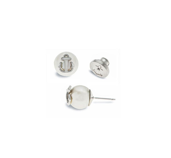 (PRE-ORDER) Pearl Earring Collection - Atlantic Pearl Silver