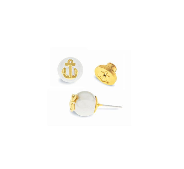 (PRE-ORDER) Pearl Earring Collection - Atlantic Pearl Gold