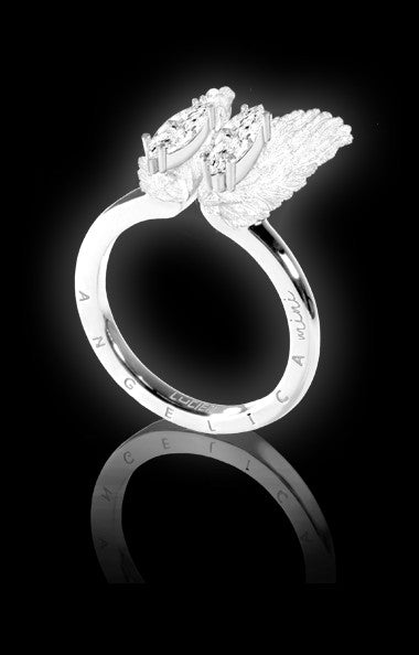ANGELICA MINI RING - SNOW WHITE (SPECIAL EDITION)