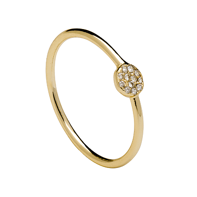 SPARKLE GOLD RING