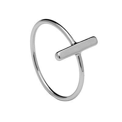 STICK SILVER RING