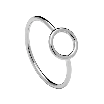 TURN SILVER RING