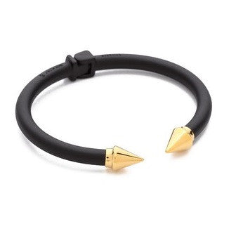 Vita Fede - Mini Titan Black and Gold Two Tone Bracelet